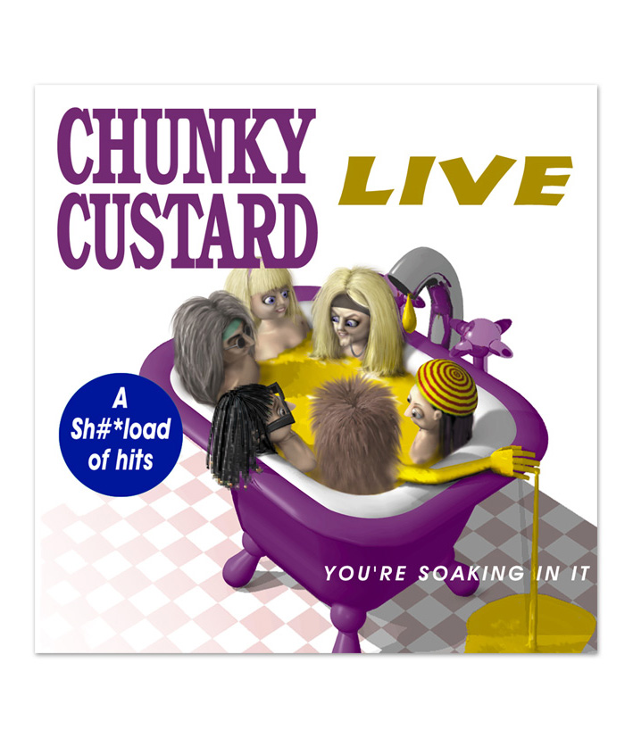 Chunky Custard - Illustration - Advert ideas