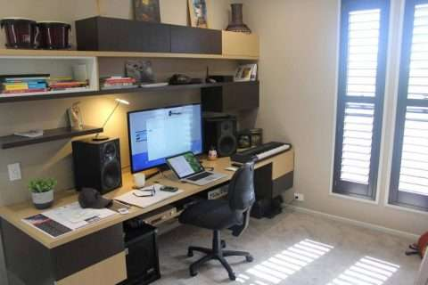graphic design home office. my brand new office space on the lake at mountain creek for coffee for an obligation free chat about your next online or print project phone me u2013 stu