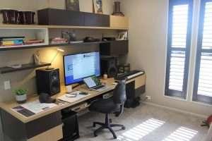 Graphic designer home office design - Sunshine Coast