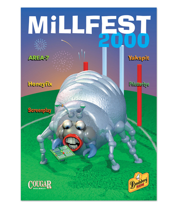 Millfest - Illustration - Advert ideas