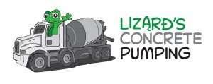 Concrete Pumping - Caloundra - logos and illustrations